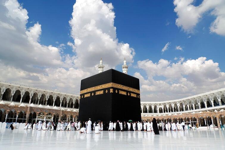 Kaaba in Mecca Saudi Arabia