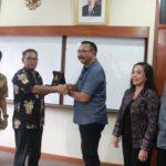 Kunjungan kerja  PDAM Kota Denpasar  ke PDAM Tirta Bhagasasi