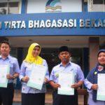 Karyawan PDAM Tirta Bhagasasi Bekasi Tandatangani Pakta Integritas