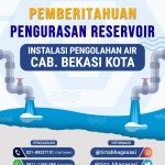 Pemeliharaan Reservoir IPA Bekasi Kota