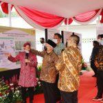 Wapres Ma'ruf  Amin Resmikan Sentra Kreasi Atensi di Kota Bekasi