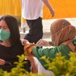 Pemkab Bekasi Mulai Vaksinasi Pedagang
