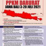 PPKM Darurat Berlaku 3-20 Juli 2021 di Kota Bekasi