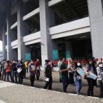 Vaksinasi Massal 50.000 Peserta di Kota Bekasi
