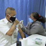 Vaksinasi Dosis Kedua Berjalan Lancar