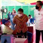 Vaksinasi Massal 140.000Orang di 56 Kelurahan Kota Bekasi