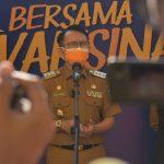 Pj Bupati Bekasi Lanjutkan Program Vaksinasi Massal di Stadion Wibawamukti