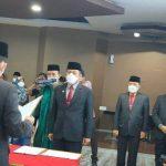 Dani Ramdan Lantik Herman Hanafi Jadi Penjabat Sekda Kabupaten Bekasi