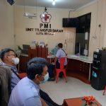 Donor Darah Dalam Rangka HUT PDAM Tirta Bhagasasi Diikuti Ratusan Pegawai